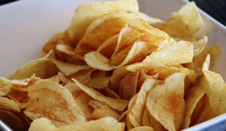chips als tussendoortje