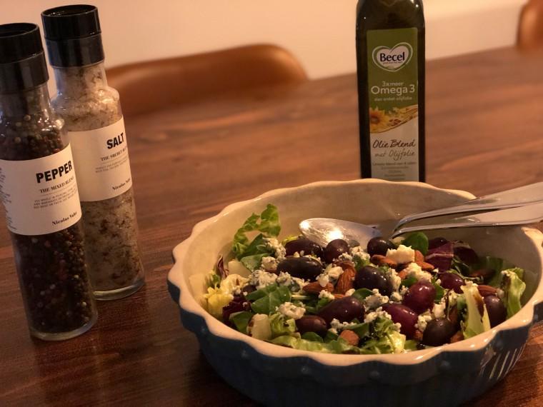 Deze salade wil Sandra wel iedere dag eten!