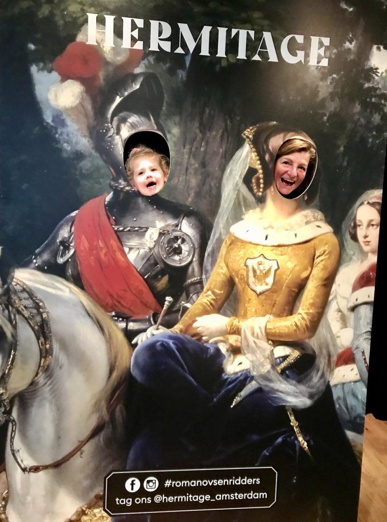 Romanovs in de ban van de Ridders Hermitage